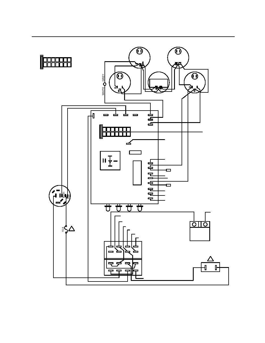 Figure 10 Control Panel Wiring Diagram Tach Wire